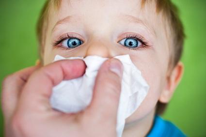 سرما خوردگی کودکان