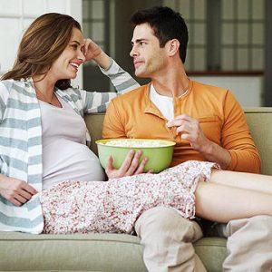 وظایف پدر دوران بارداری همسر