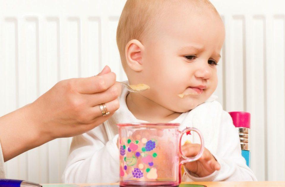 اعتصاب غذای نوزاد