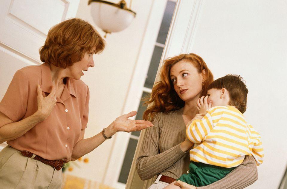 برخورد والدین با نصیحت کنندگان