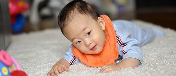 نیروی-جسمانی-نوزاد-سالم