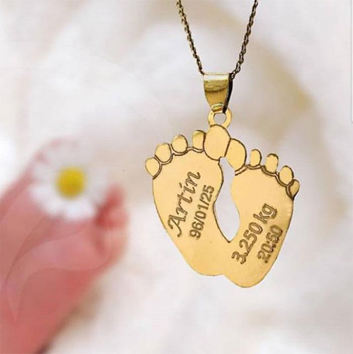 پلاک اسم نوزادی تاریخ تولد